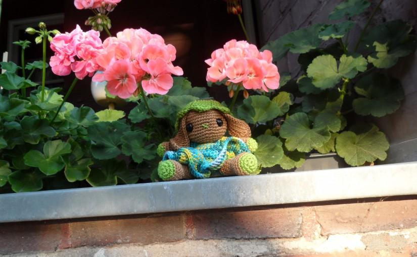 Yuki, das Blumenhäschen