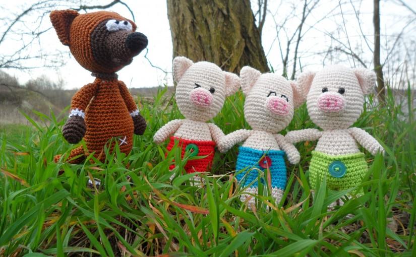 Der Wolf und die drei kleinen Schweinchen